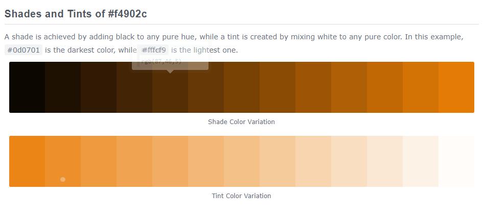 50 shades of APK - Anthony Kuzub Orange - RGB 244 144 44 - R244 G144 B144 - Hex f4902c